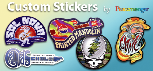 Create Custom Bumper Stickers Art Decals Buttons Magnets And More - Custom stickers and magnets