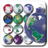 Earth Marbles,  Jewelry and Gifts