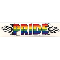 A168 - Rainbow Pride Art Decal Window Stickers