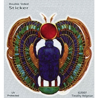 A234 - Sacred Scarab Art Decal