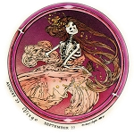 A283 - Virgo Grateful Dead Art Decal Window Sticker