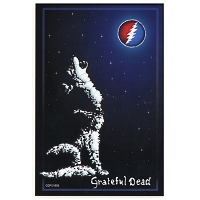 A347 - Grateful Dead Wolf Art Decal