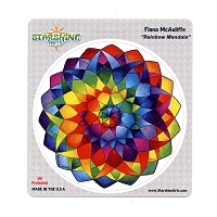 CS162 - Rainbow Mandala Color Sticker