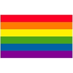 FLG007 - Rainbow Pride Flag