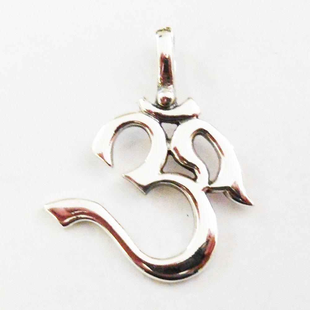 j028 sterling ohm pendant ebay