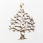 J029 - Tree of Life Sterling Silver Necklace Pendant