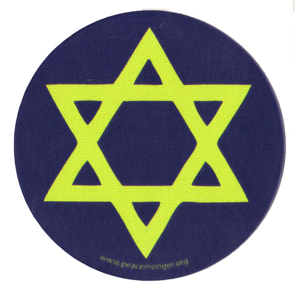 Symbol Of Judaism Star...