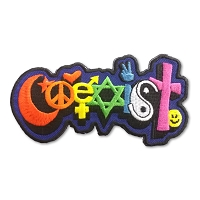 P230 - Happy Coexist Rainbow Patch