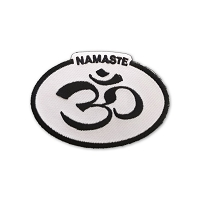 P235 - Namaste Om Oval Patch