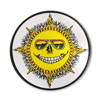 P236 - Skeleton Sun Classic Jerry Jaspar Patch