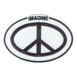 P237 - Imagine Peace Oval ID Patch