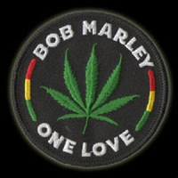 P078 - One Love Leaf Patch