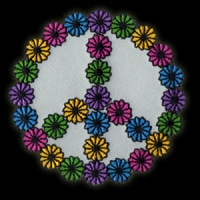 P091 - Peace Flowers Patch