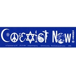 S094A - Coexist Now Bumper Sticker