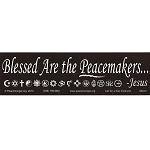 S212 - Blessed are the Peacemakers Bumper Sticker