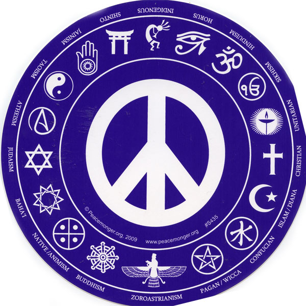 Symbos of many different religions