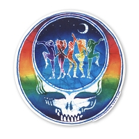 A108 - Dancers Steal Your Face Art Decal