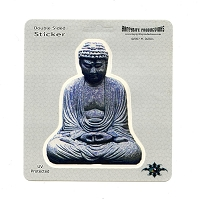 A403 - Buddha Statue Color Decal