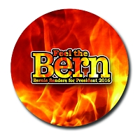 B632 - Feel the Bern Button