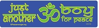 CS174 - Just another OM boy for peace Color Sticker