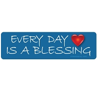 CS200 - Every Day is a Blessing Color Sticker