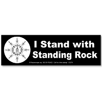 CS278 - I Stand with Standing Rock Color Sticker