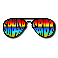SC009 - Santa Cruz Shades Die Cut Sticker (Aviator)