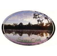 SC020-D - Santa Cruz Local Sunrise Oval Sticker