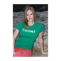 WT001 - Coexist Womens Fitted T-Shirt