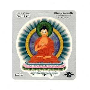 A404 - Teaching Buddha Color Decal