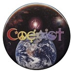 B012 - Rainbow Coexist Universe Interfaith Button