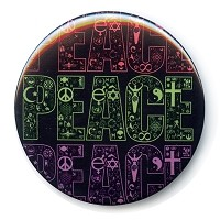 B478 - Coexist in Peace Interfaith Button