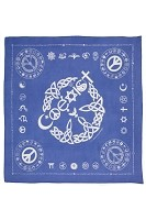 BD003 - Original Coexist Symbols Golden Rules Bandana