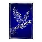 FM083 - Coexist Peace Dove Interfaith Fridge Magnet