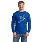 TLS004 - Coexist Peace Dove Long Sleeve T-Shirt