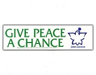 MS169 - Give Peace a Chance Mini Sticker