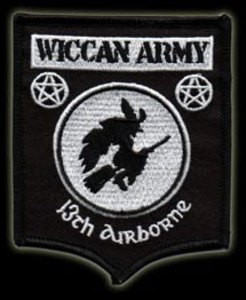 P067 - Wiccan Army Patch