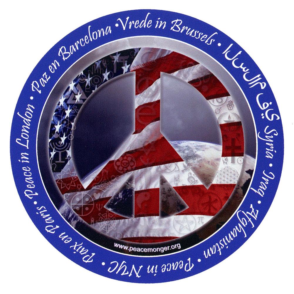 Cs201 a mag peace sign in america interfaith coexist symbol flag cs201 a stat peace sign in america interfaith coexist symbol flag static cling sticker biocorpaavc