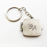 J097 - Love Locket Keychain