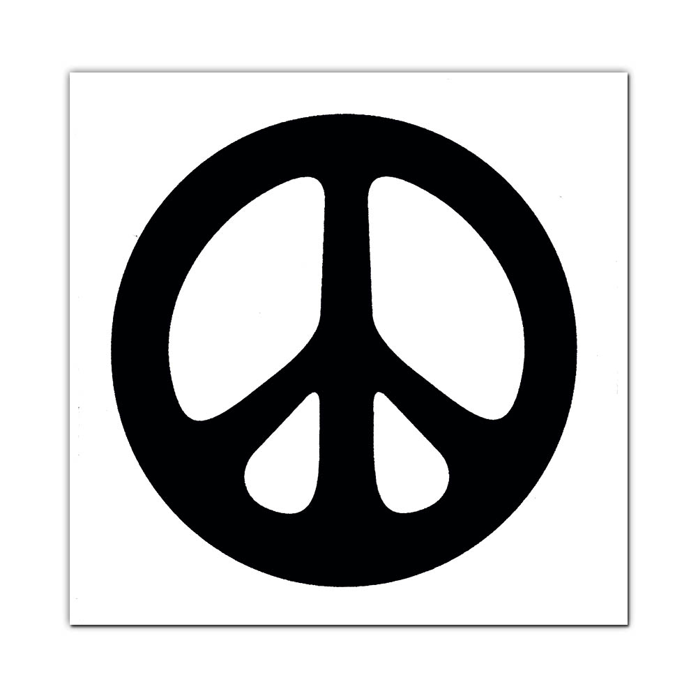 Ms23 peace symbol white mini sticker copyright 2018 peacemonger all rights reserved ecommerce software by 3dcart biocorpaavc