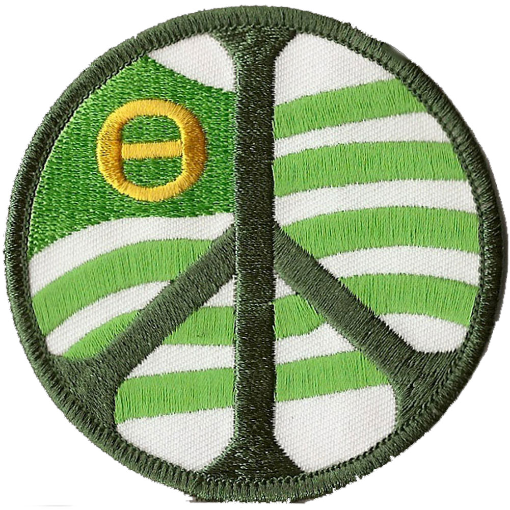 Peace sign ecology flag patch home sweet deals clearance patches p206 peace sign ecology flag patch biocorpaavc