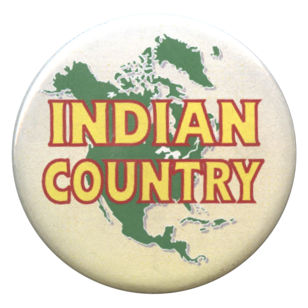B413 - Indian Country Button