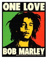 A322 - Bob Marley One Love Color Sticker