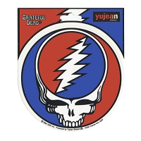 A115-MAG Steal Your Face Grateful Dead Decal Deadhead SYF Magnetic Sticker