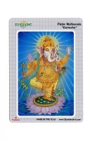 CS205 Ganesha Elephant Headed Hindu God of Wisdom Success Luck Color Sticker