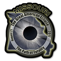 EC003 - Missouri -  Great American Eclipse 2017 Sticker