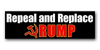 CS279 - Repeal and Replace - Anti Trump Color Sticker